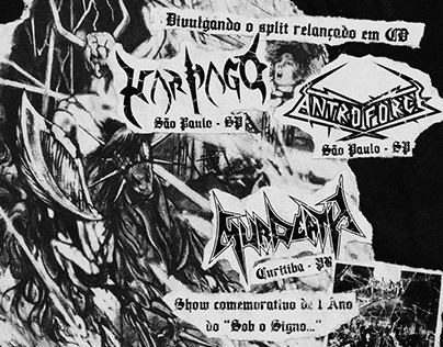 Cartaz Murdeath | Harpago | Antroforce