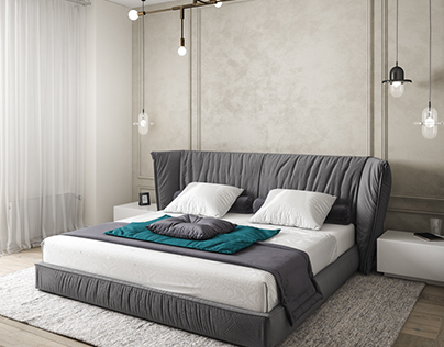 Bedroom for a confident lady