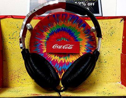 Psst.. Coca-Cola is launching its first Headphones;)