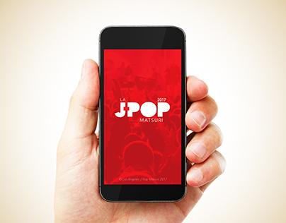 L.A. J-Pop Matsuri Event App Prototype