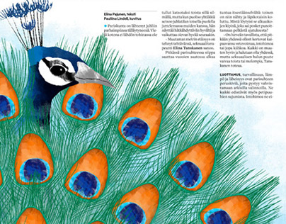 Illustration - Aamulehti Newspaper