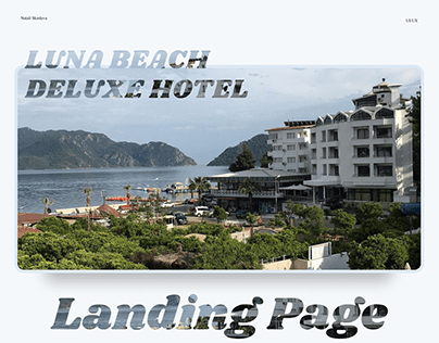 Landing page/Hotel redesign