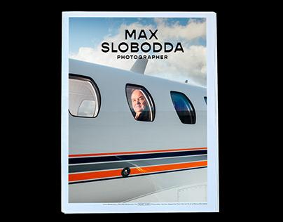 Visual Identity for Photographer Max Slobodda