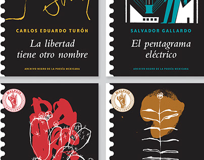Colección Archivo Negro de la Poesía Mexicana Serie 2