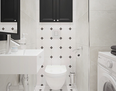 Visualization of the bathroom.