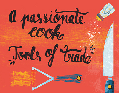 A passionate cook