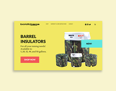 BoldtBags - Website Redesign