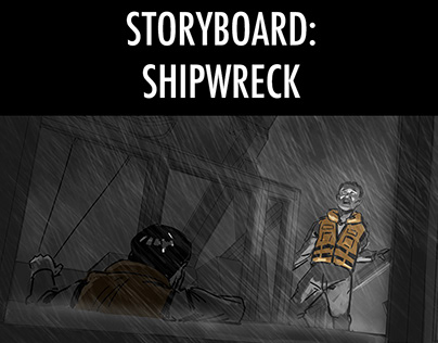 Shipwreck Film Storyboard