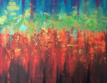 Acrylic paintings 2021