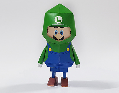 038_Luigi [Paper toy of Boogiehood]