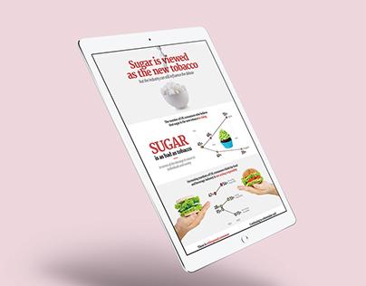 Obesity, diet & health Infographic