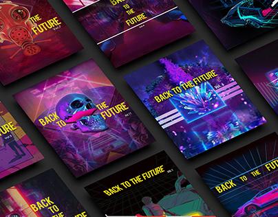 Poster Design - BACKTOTHEFUTURE series
