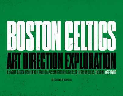 Boston Celtics Art Direction Challenge: Minimal Toolkit