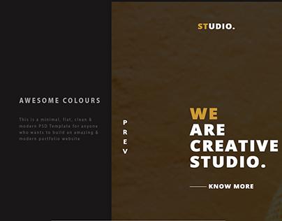 Studio. | portfolio Theme For Business Agency