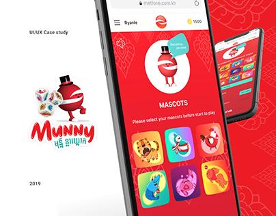 Munny Kla Klouk - Web Mobile Game