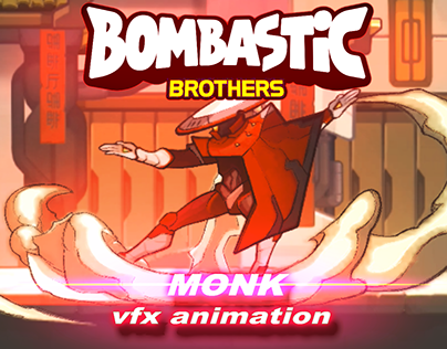 BOSS ''MONK'' VFX ANIMATION