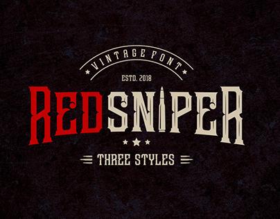 Redsniper Font