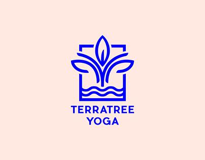Terratree Yoga branding