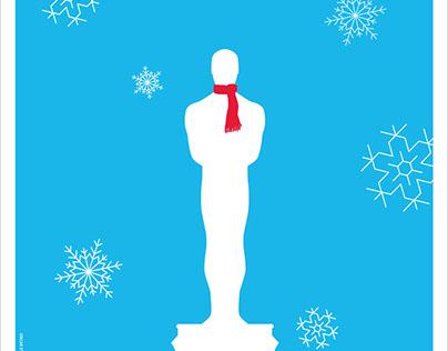 Oscar Night On Ice Poster