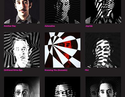 A G E N T - The 9 Singles Artwork