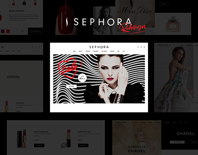 Sephora - UI/UX Website Redesign
