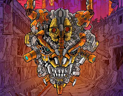 [Commission] Nukem Comics   Killer Dahlia cover art