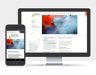 Website Mechthild Ammann