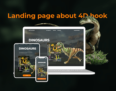 Landing page about 4D book