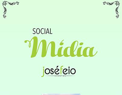Mídias sociais - José Feio Cerimoniais e eventos. 2017.