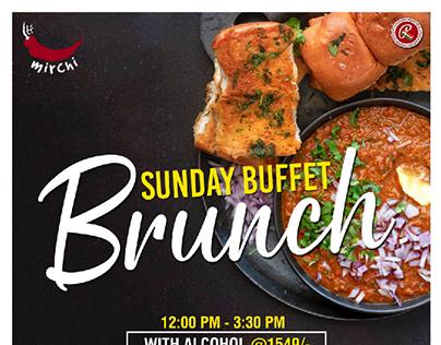 Sunday Buffet Brunch