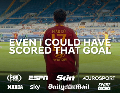 Hyundai - Even I could have scored that goal