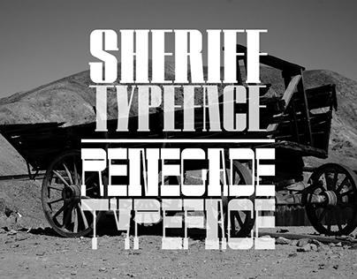 Sheriff - Renegade Typeface | Grau en Disseny Gràfic