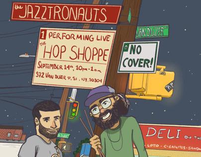 THE JAZZTRONAUTS LIVE: The Hop Shoppe 9/14