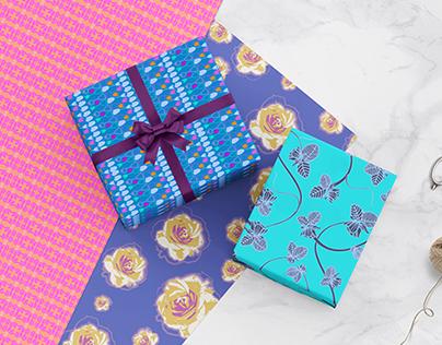 Floral Pattern Design - Product Mockup