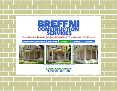 BREFFNI -Website Design & Maintenance.