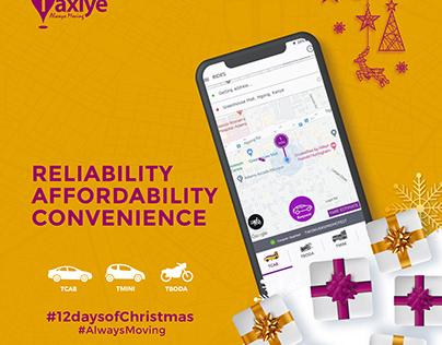 Taxiye Christmas Posters