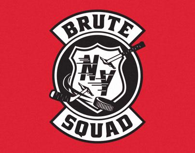 BRUTE SQUAD Logo Design