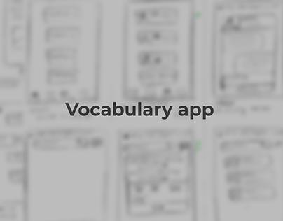 Vocabulary App