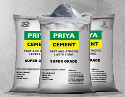 PRIYA CEMENT - Creative Advertisements