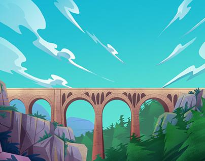 Background_Güney Adana Projesi) Tanıtım Animasyonu