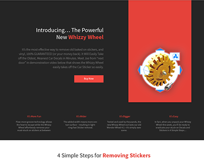 Decals webdesign