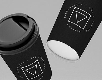 Groundstate Coffee & Yoga Branding