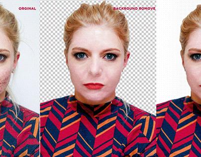 photo retouching,backround remove