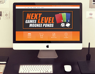 Next Level Games Moonee Ponds Website