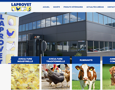 laprovet.com - Webdesign, HTML/CSS, Wordpress