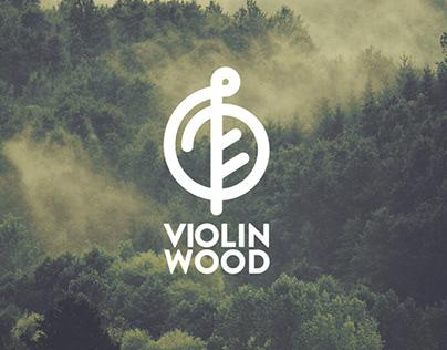 Violin Wood Branding