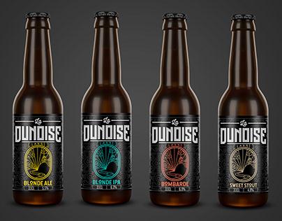 La Dunoise beer branding