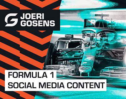 Formula 1 - Social Media Content
