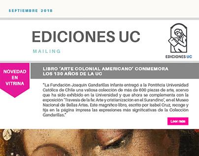 Newsletter Ediciones UC