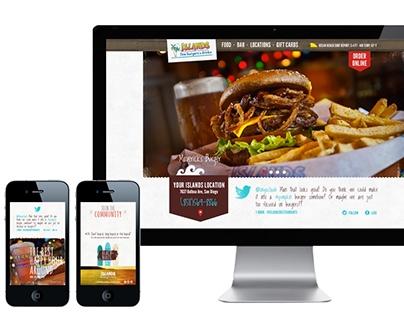 Islands Restaurant Branding & Website